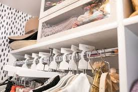 Walk in closet Black Association Of Closet And Storage Professionals 21 Best Small Walkin Closet Storage Ideas For Bedrooms