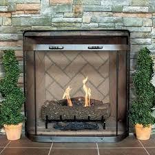 pilgrim vintage iron spark guard 31 x 31 vintage iron fireplace screen