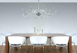 post dining table chandelier height standard