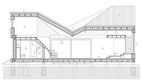 first floor plan for larger image energy efficient wooden house zilvar by asgk design in the czech republic