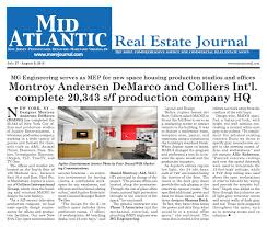 Atlantic Design Group Inc Montroy Andersen Demarco And Colliers Intl Complete 20 343