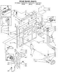 kenmore model 11092195110 residential washers genuine parts kenmore 110 washer wiring diagram Kenmore Washer Wiring Diagram #23