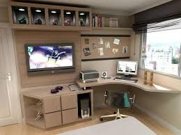 bedroom with tv and computer. Teenage Girl Bedrooms, Girls Bedroom, Study Rooms, Tables, Furniture Plans, Office Furniture, Interior Work, Tv Sets, Home Bedroom With And Computer L