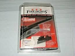 williams fire sights fiber optic light gathering sights set 60213 fit ruger 10 2