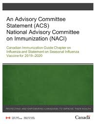 Influenza Dosage Chart Canadian Immunization Guide Chapter On Influenza And