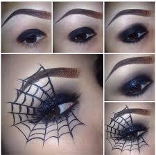 spider web eye makeup