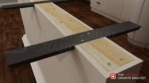 granite countertop brackets. Countertop Support Brace Flat Wall Bracket By The Original Granite Install View Throughout Brackets