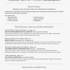 Reception Resume Receptionist Job Description Salary Skills More