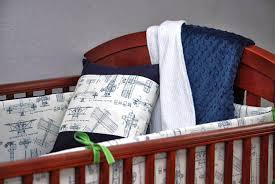 airplane crib bedding set