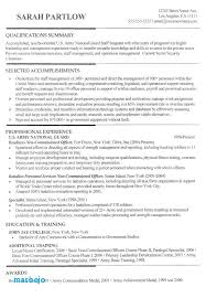 Military Resumes Examples Best Resume Examples For Military To Civilian 28 Best Sample Resumes