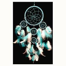 Set It Off Dream Catcher Simple Handmade Dream Catcher With Feathers Wall Hanging Decoration With