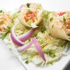 Crab and Seafood Stuffed Shells Recipe ...