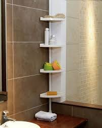 Telescopic Shower Corner Shelves Classy Funky Buys FunkyBuys WHITE 32 Tier Adjustable 322320 Cm Telescopic
