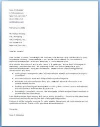 Sample Cover Letter For Executive Assistant Position Cover Letter