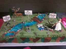 Hunting Fishing Grooms Cake Cakecentralcom