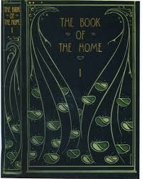 Cover Of H C Davidsons The Book Of The Home Binding Design By