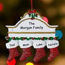<b>Stockings</b> on <b>Mantle Family</b> Ornament   <b>Family</b> christmas ornaments ...