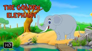 Jataka Tales - The <b>Golden Elephant</b> - Animated / Cartoon Stories for ...
