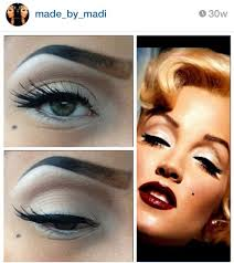 3 marilyn monroe inspired makeup old hollywood glamour