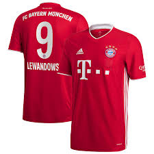 View the player profile of robert lewandowski (bayern munich) on flashscore.com. Men S Adidas Robert Lewandowski Red Bayern Munich 2020 21 Home Replica Jersey