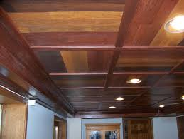 image of basement drop ceiling lighting ideas