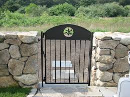 custom made custom wrought iron pool garden gates