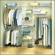 wall closet organizer small organizers simple bedroom with metal wire rack walk in h1 walk