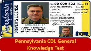 General - Knowledge Pennsylvania Cdl Youtube Test
