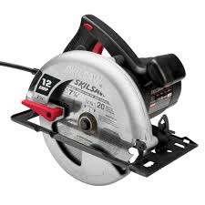 skill saw home depot. skil factory reconditioned corded electric 7-1/4 in. circular saw with blade skill home depot d