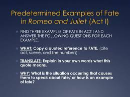 Romeo And Juliet Quotes About Fate Classy Romeo And Juliet On Fate Homework Help