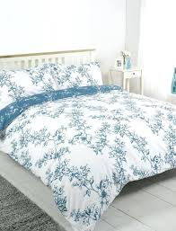 black toile duvet cover king fl toile de jouy bedding in teal worlds french blue a