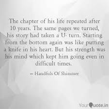 New Chapter Quotes Mesmerizing The Chapter Of His Life R Quotes Writings By Handfuls Of
