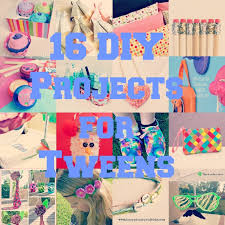 16 diy projects for tween girls