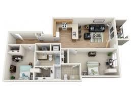 One Bedroom Apartment Design Magnificent 48 48 Bed Apartments 248 Rio