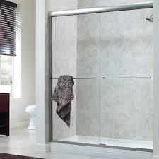 dreamline frameless sliding shower door installation instructions best semi doors bypass 3 8 glass framed vs