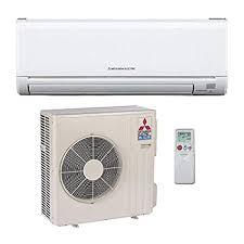 mitsubishi ductless heat pump. Perfect Heat Mitsubishi 24000 Btu 18 Seer Single Zone Ductless Mini Split Heat Pump  System AC And Intended A