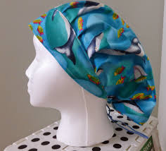 Scrub Patterns Impressive Miss Muffet Scrub Hats Whale Watching Scrub Hat
