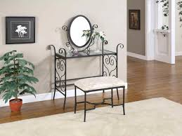 black bedroom vanities. Selecting The Best Vintage Vanity For Bedroom : Antique Home Furniture Of Small Black Iron Vanities L