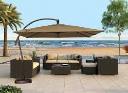 lovable patio table umbrellas patio ideas large cantilever patio pertaining to proportions 1100 x 800