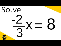 equations with fraction coefficient