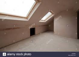 Loft Storage Attic Conversion Storage Stock Photos Attic Conversion Storage
