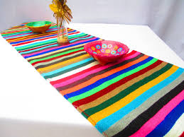 Fiesta Table Decorations White Mexican Table Runner Mexican Decorations Fiesta Party