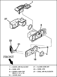 the fiero store heater box diagram 98 lincoln town car at Heater Box Diagram