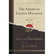The American Legion Magazine Vol 34 May 1943 By American Legion