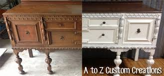 painting wood furniture whiteGiving Painted Furniture a Makeoverthe easy way