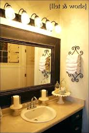bathroom mirror frame. Decorative Bathroom Mirrors Wall Full Size Of Round Oval Mirror Frame . I