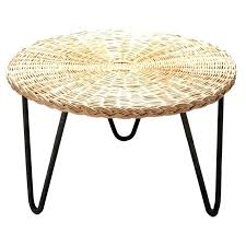 wicker coffee table by c round top and enameled metal rattan nz wicker coffee table by c round top and enameled metal rattan nz