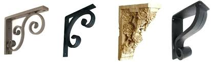 decorative countertop support brackets how to choose your support brackets decorative countertop support brackets