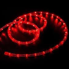 christmas rope lighting. Led Rope Light Red 50 Feet Christmas Lighting