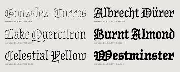 black letter font whats inside inkwell blackletter fonts hoefler co